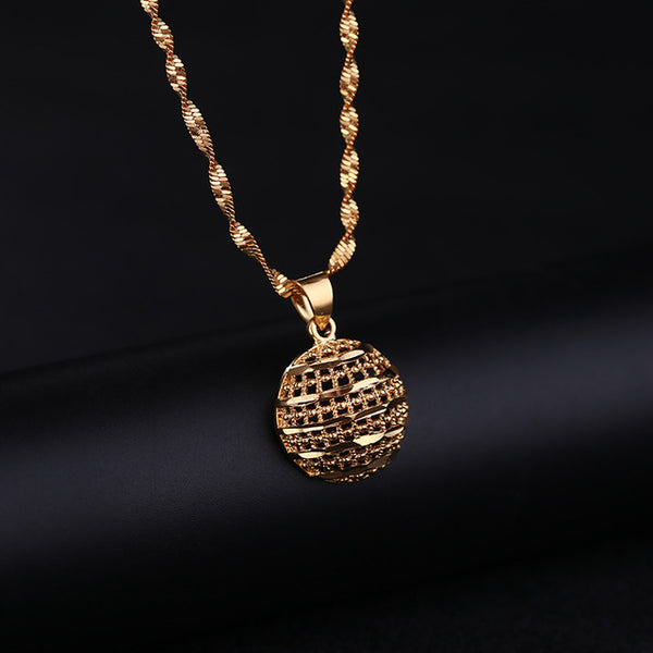 24K Yellow Gold Filled Hemisphere - Regal Collective
