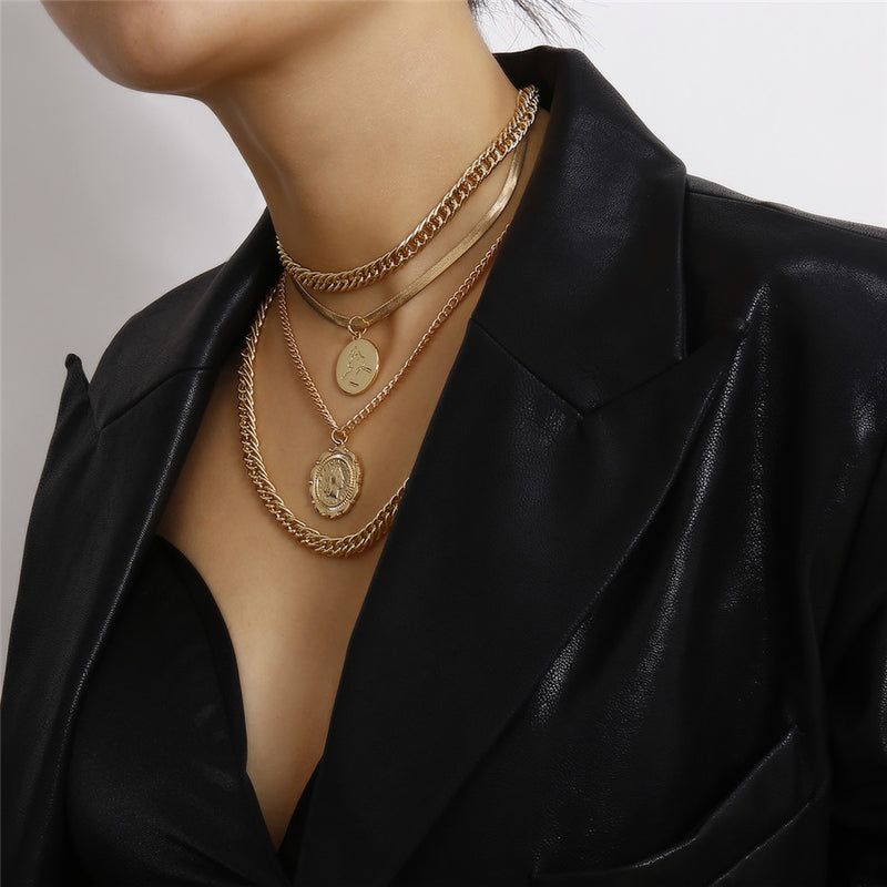 Punk Miami Cuban Choker Necklace - Regal Collective