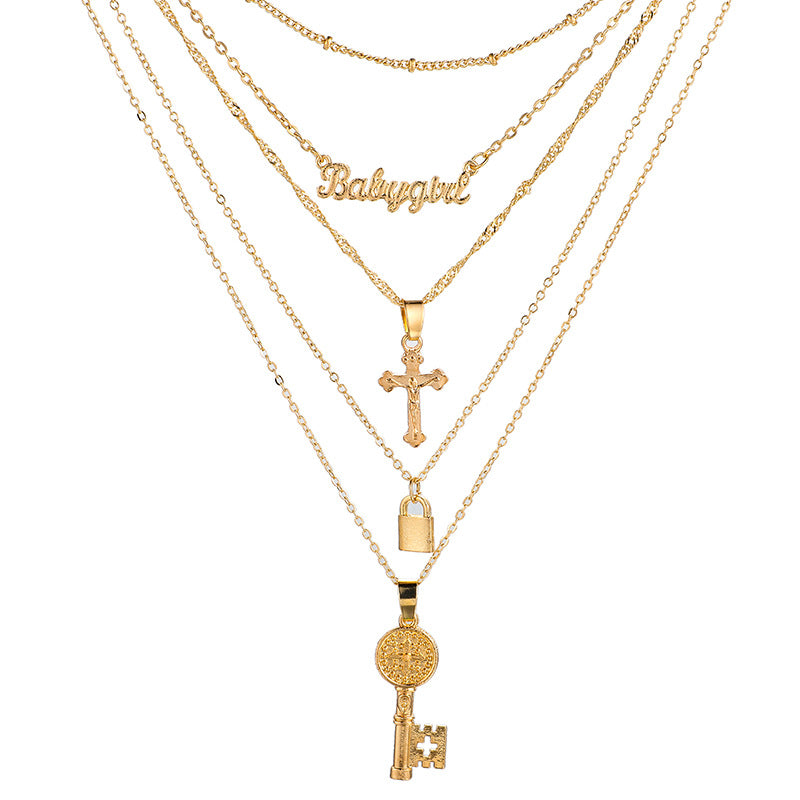 Lock Multilayer Cross - Regal Collective