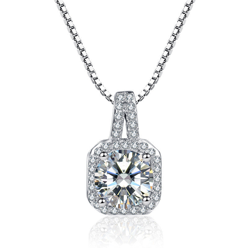Rhinestone Crystal Zircon Stone Necklace - Regal Collective