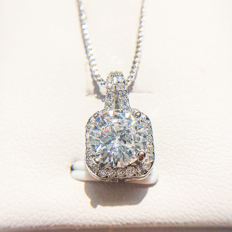 Rhinestone Crystal Zircon Stone Necklace