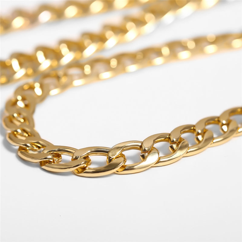 Curb Cuban Chain Necklace - Regal Collective