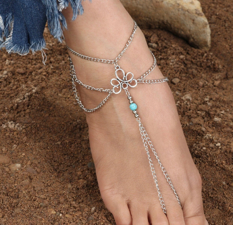 Bohemian Round Anklet - Regal Collective