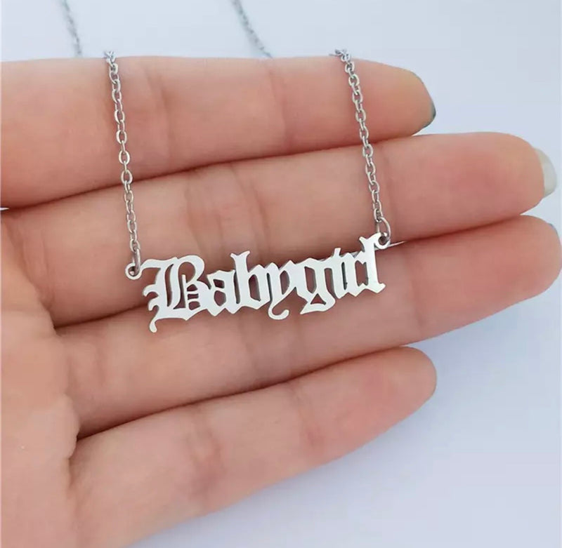 Babygirl Necklace - Regal Collective