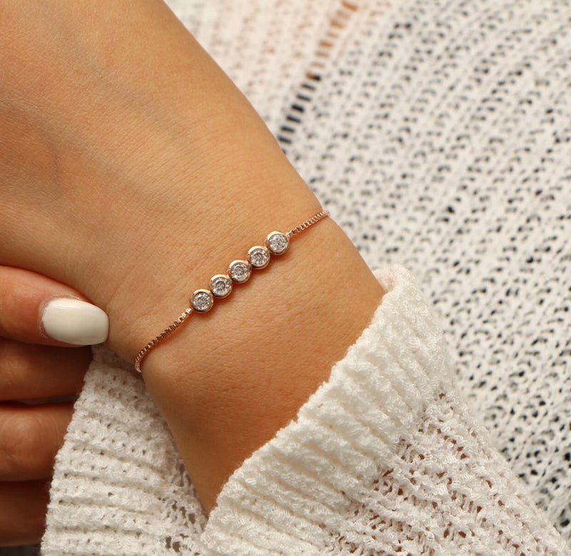 Crystal Clear Bracelet - Regal Collective