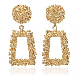 Gold Vintage Earrings - Regal Collective