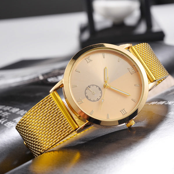 RC SKY WRIST WATCH - GOLD - Regal Collective