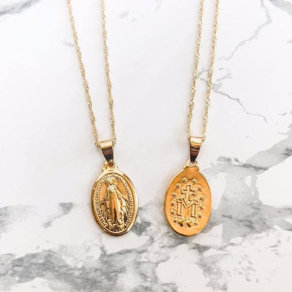 Mary Gold Necklace