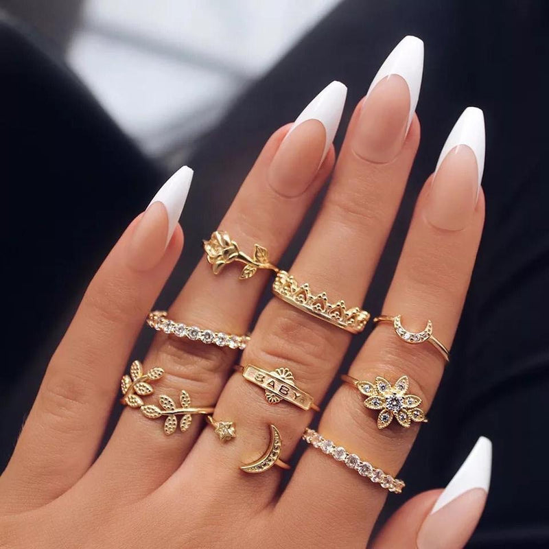 Baby Girl Ring Set - Regal Collective