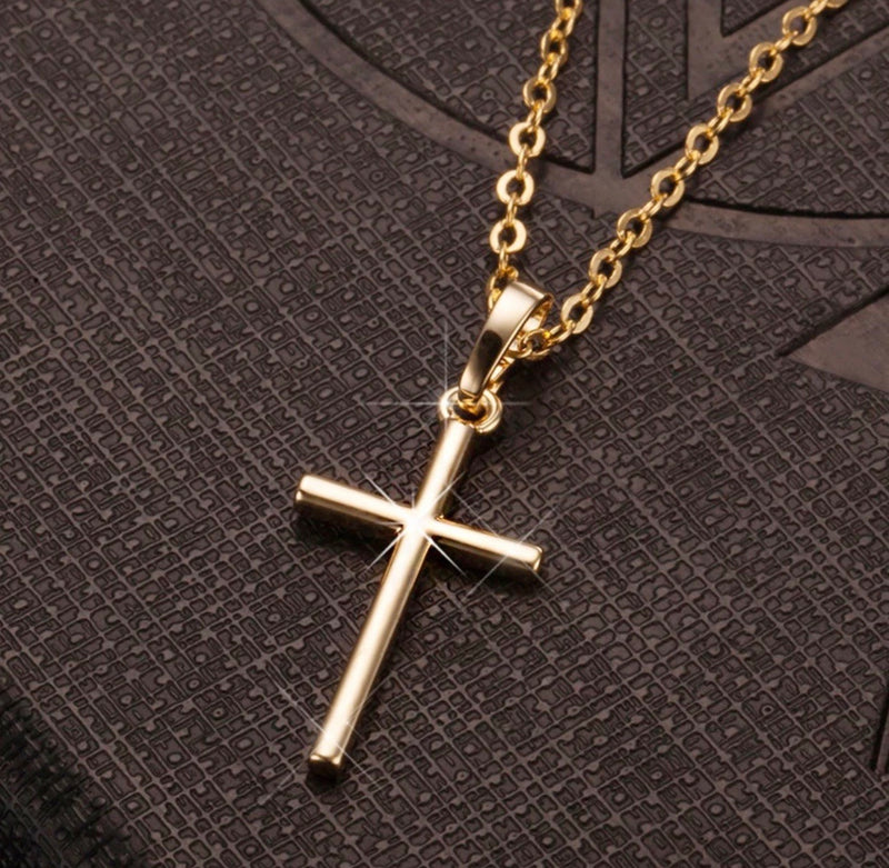 Gold Cross Necklace - Regal Collective