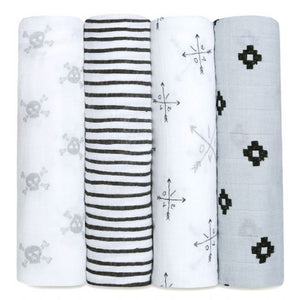 Aden + Anais Lovestruck 4 Pack Swaddle