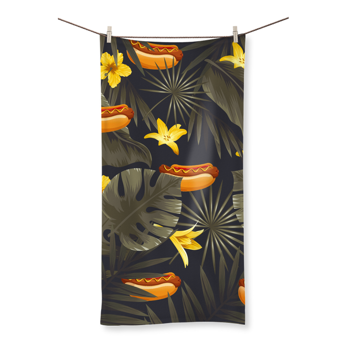 Hot Dog Towel