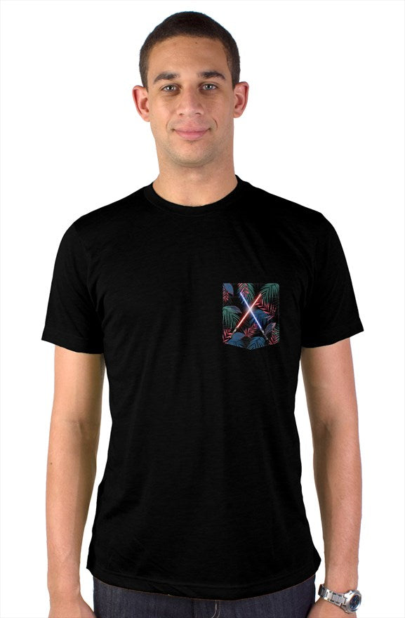 Light Sabers Pocket T-Shirt