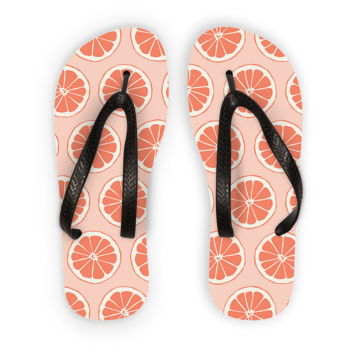 Grapefruits Flip Flops