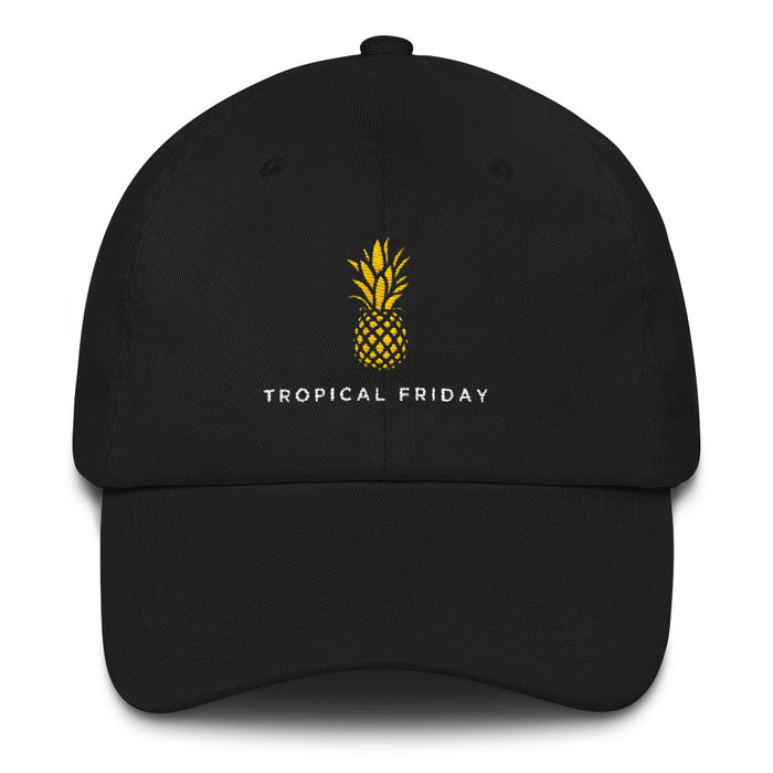 Tropical Friday Simple Logo Dad hat