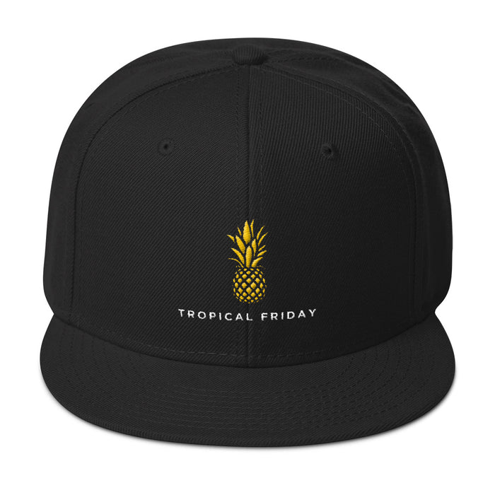 Tropical Friday Simple Logo Snapback Hat
