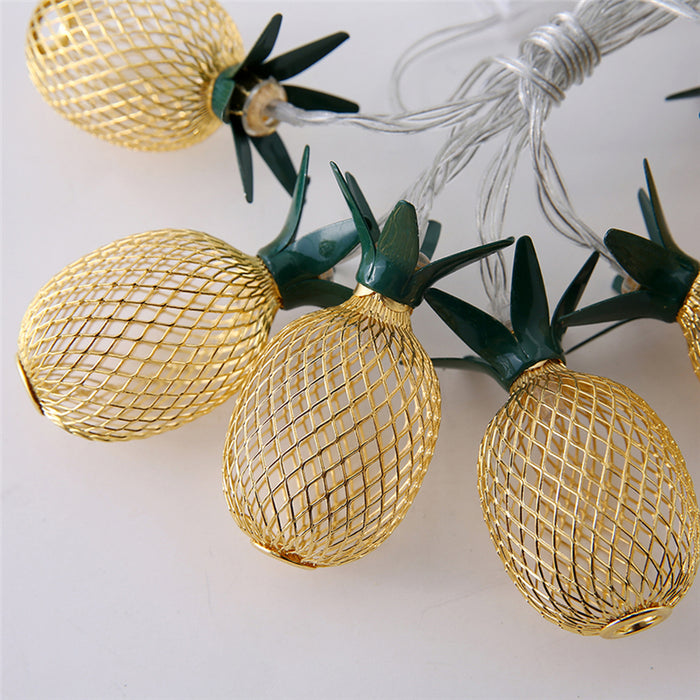 Light Up Pineapples On A String