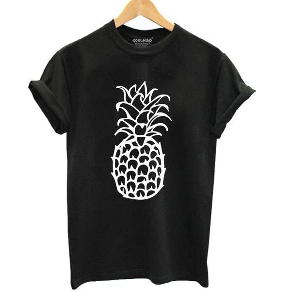 Simple Pineapple Outline Tee