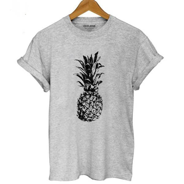 Black & White Pineapple Tee