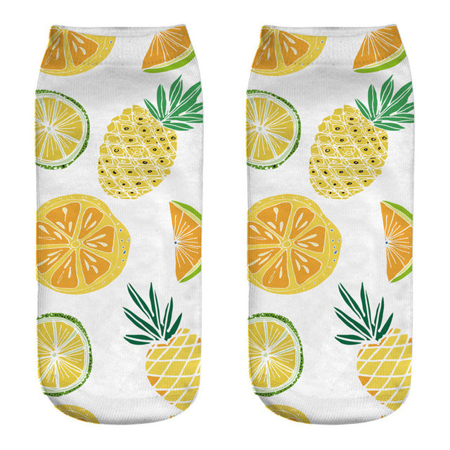 Tropical Fruits Socks