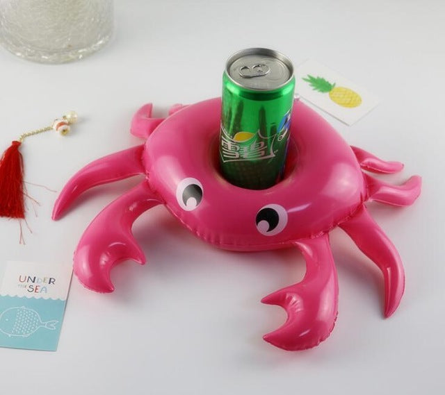 Crab Inflatable Cup Holder