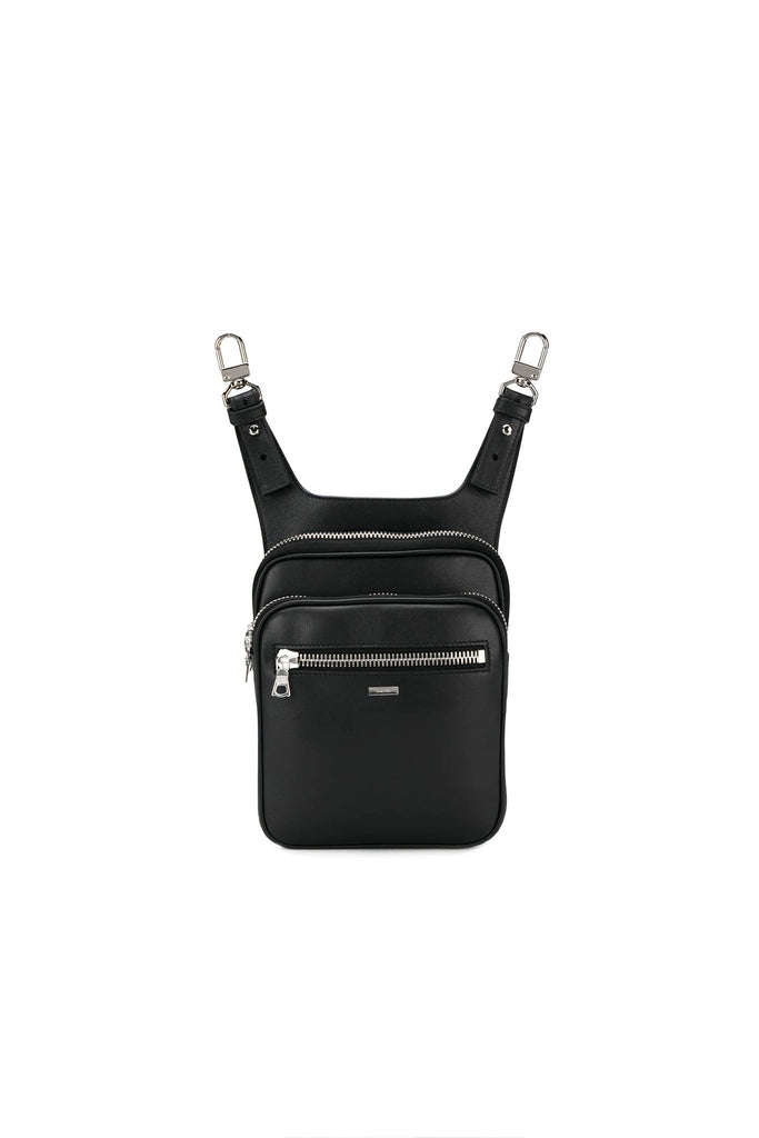 Hip Pouch Bag - Black