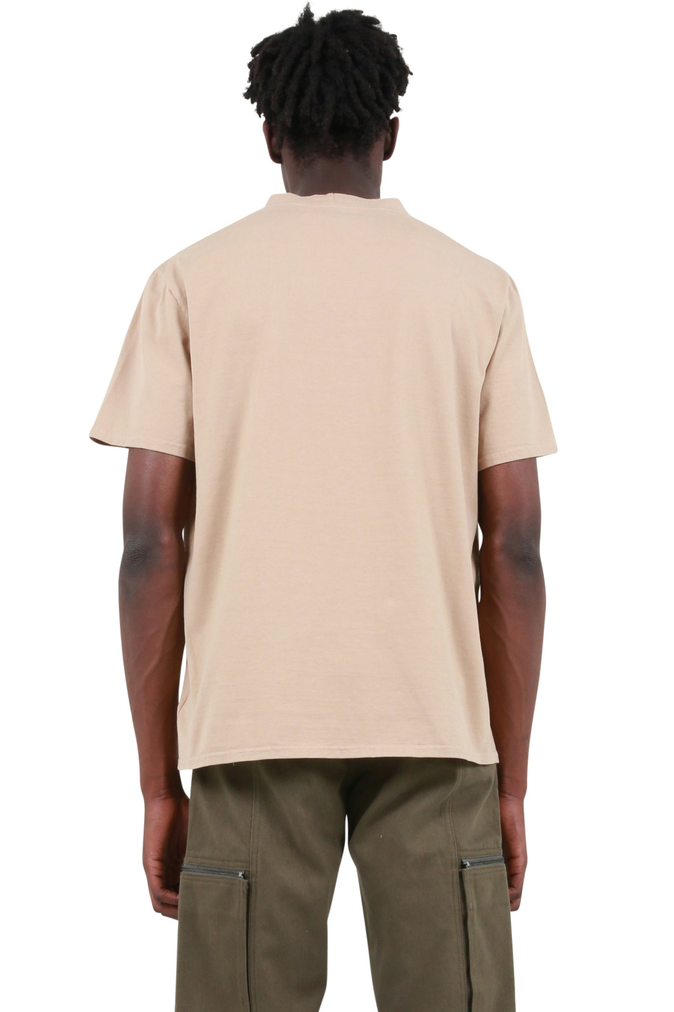 YEEZY Season 3 - Orange Heavy Knit T-Shirt