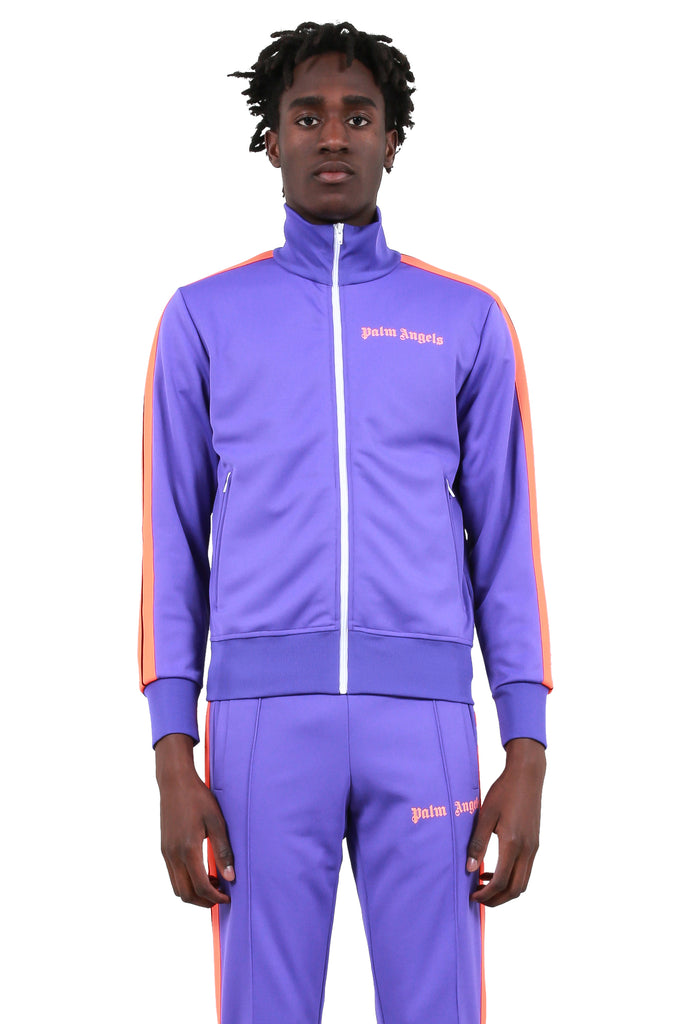 Bold Track Jacket - Purple/Fluoro Orange