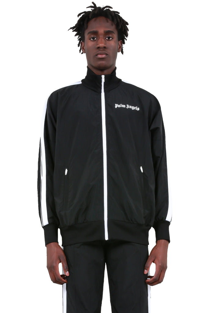 Over Logo Track Jacket - Black/White