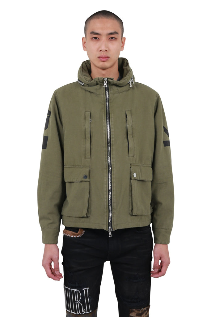 Military Stand Collar Jacket