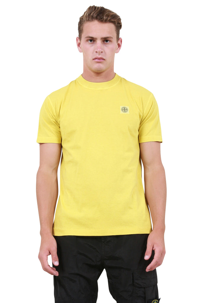 Fissato Dye T-Shirt - Wheat Yellow