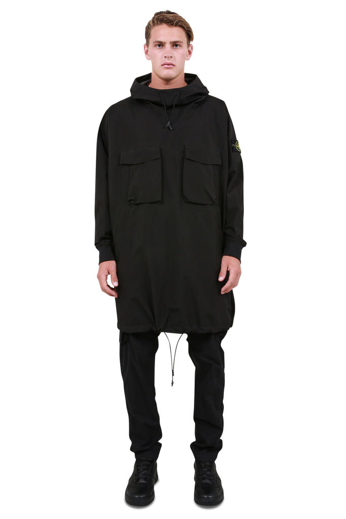 Gortex Pullover Coat - Black