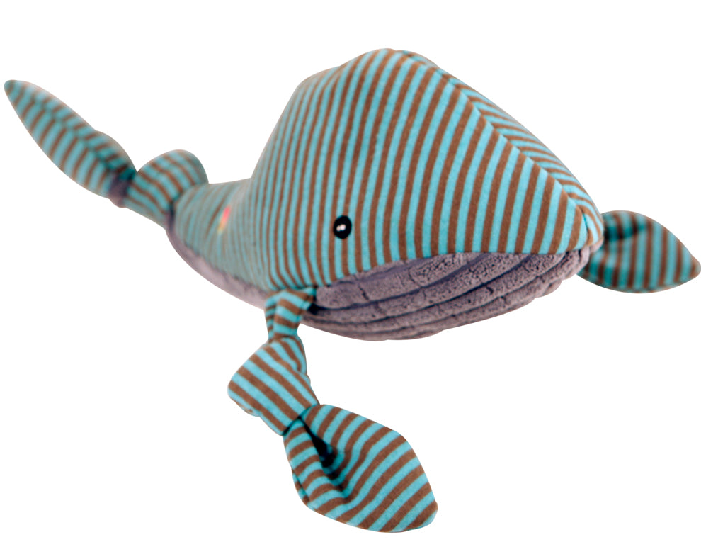 Hugglehounds Plush Corduroy Durable Knotties Whale