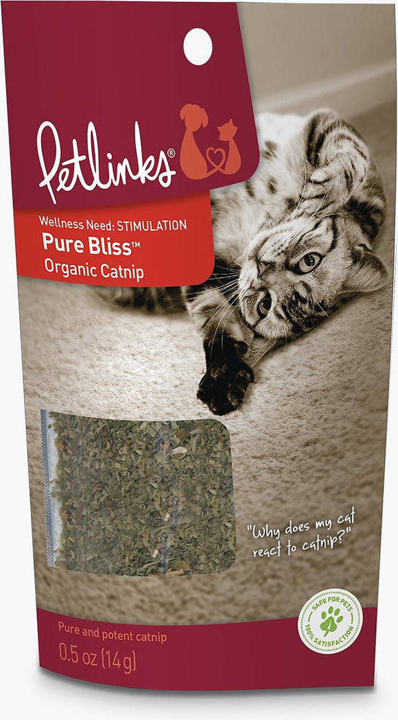 Pure Bliss Organic Catnip, 5oz