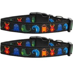 Black Monsters Collar - Rocky & Maggie's Pet Boutique and Salon