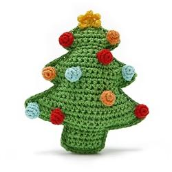 Christmas Tree Knit Toy - Rocky & Maggie's Pet Boutique and Salon