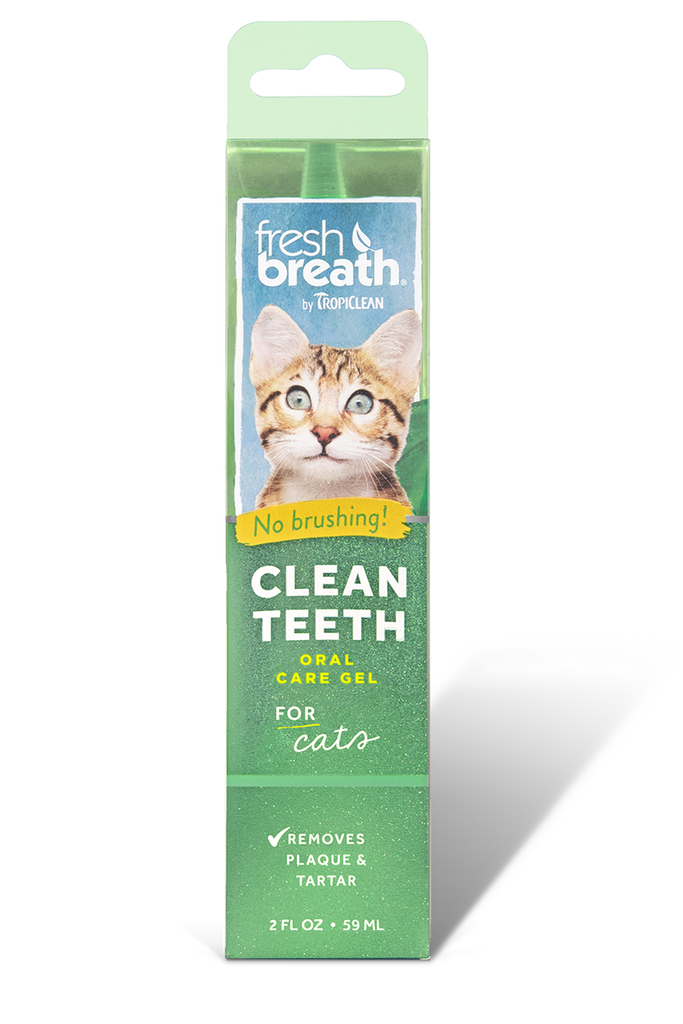 Fresh Breath Clean Teeth Gel for Cats, 2oz