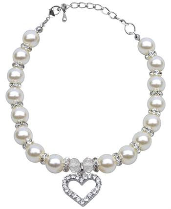 Heart & Pearl Necklace