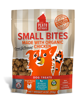 Small Bites from Plato Pet Treats