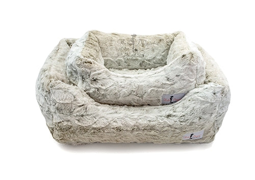 Luxe Pearl Leopard Bed