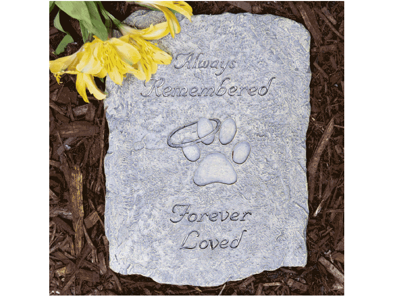 Always Remembered Memory Stone - Rocky & Maggie's Pet Boutique and Salon