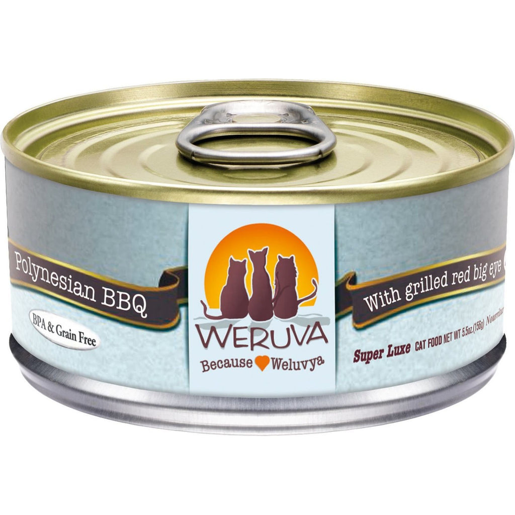Polynesian BBQ with Grilled Red Bigeye in Aspic Grain-Free Canned Cat Food