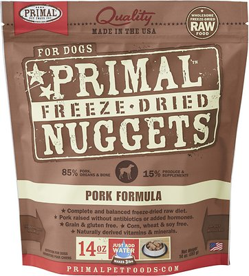 Dog FD Pork Nuggets 14oz