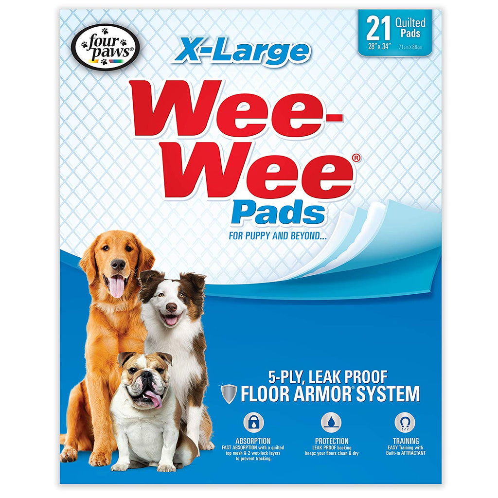 Wee-Wee Puppy Pee Pads for Larger or Multiple Dogs