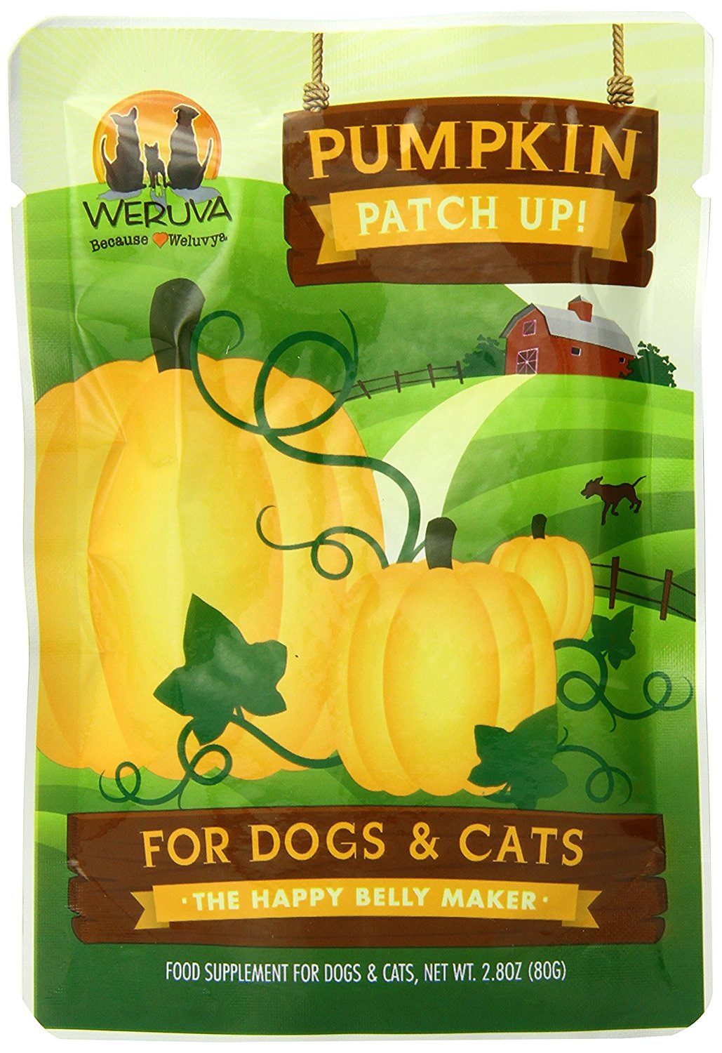 Pumpkin Patch Up! for Dogs and Cats