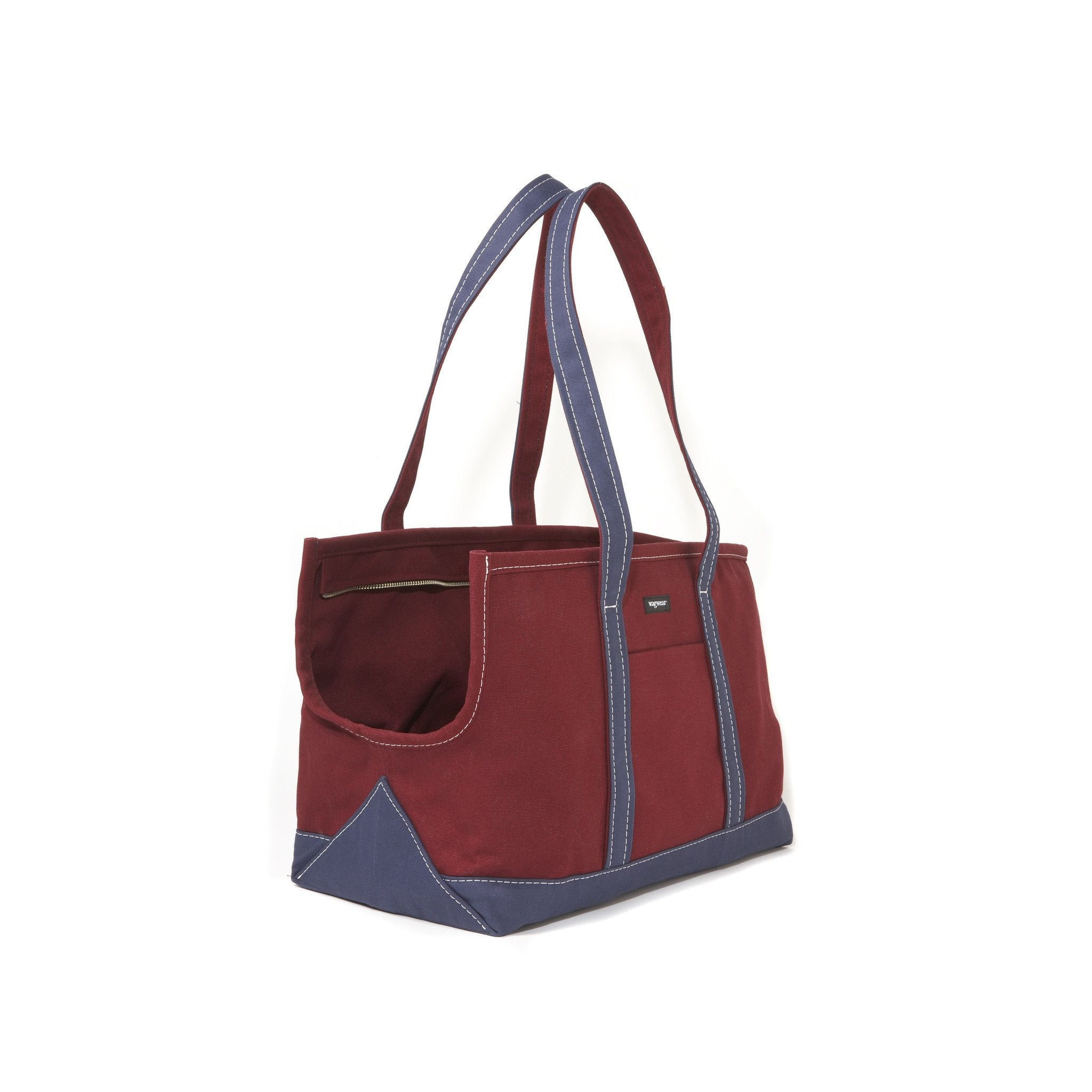 Boat Canvas Zipper Tote - Various Colors - Rocky & Maggie's Pet Boutique and Salon