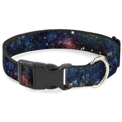 Space Dust Collage Collar