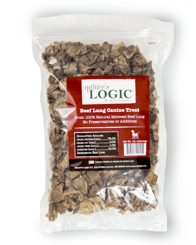 Beef Lung Dog Treats, 1# - Rocky & Maggie's Pet Boutique and Salon