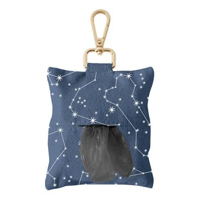 Celestial Canvas Waste Bag Keychain - Rocky & Maggie's Pet Boutique and Salon