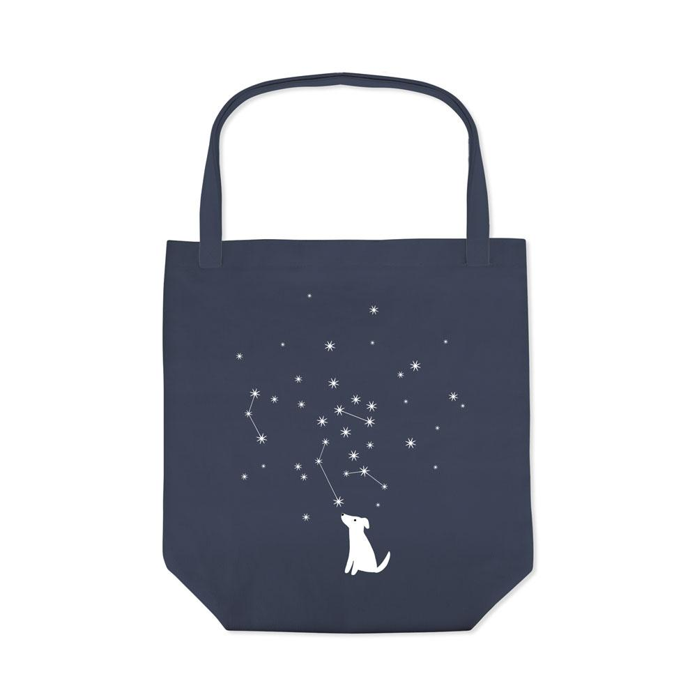 Celestial Dog Canvas Tote - Rocky & Maggie's Pet Boutique and Salon